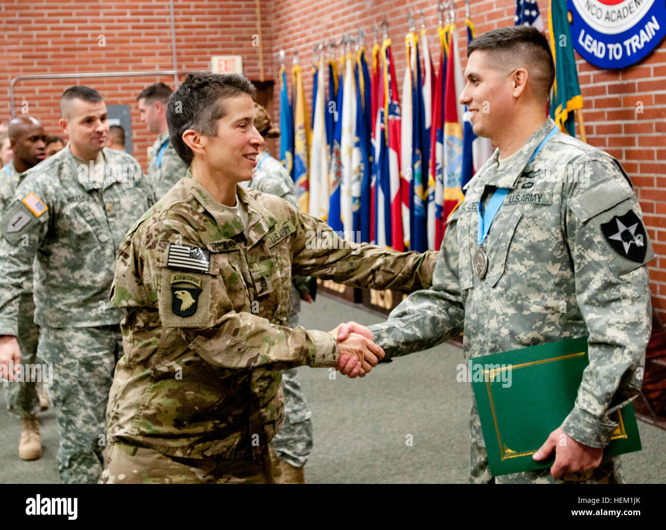 Army color casing ceremony script - Command Sgt Major Dawn Rippelmeyer 42nd Military Police Brigade Command Sergeant Major Congratulates