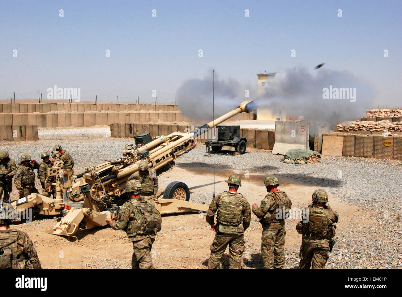 FOB SHANK, Afghanistan -- Paratroopers with A Battery, 4th ...
