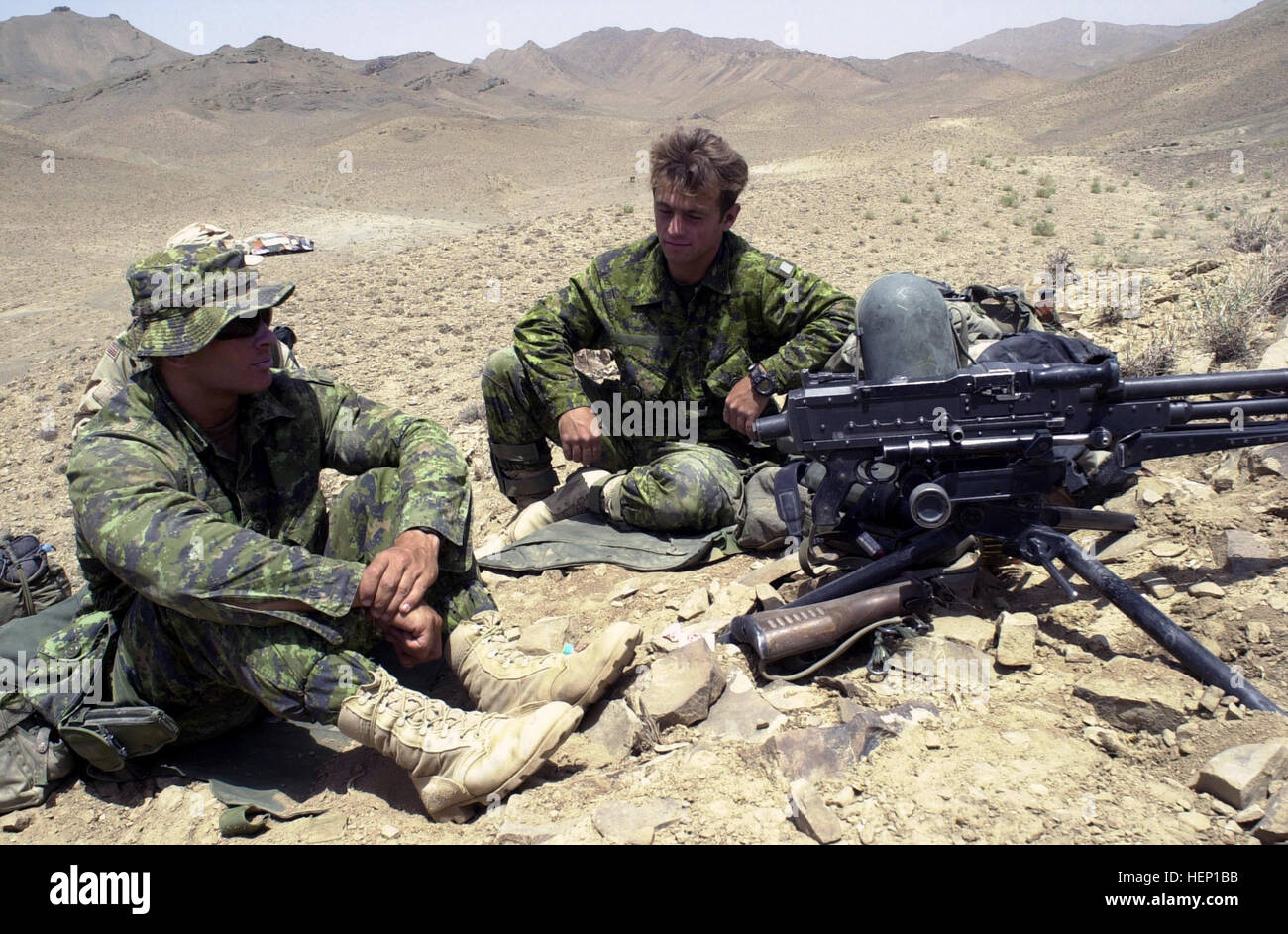 Canadian Forces Army Soldiers Assigned To 3rd Battalion