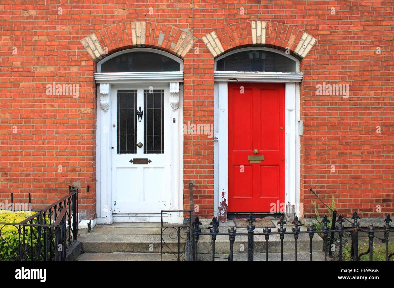 Georgian doors in Dublin Ireland & Georgian doors in Dublin Ireland Stock Photo Royalty Free Image ...