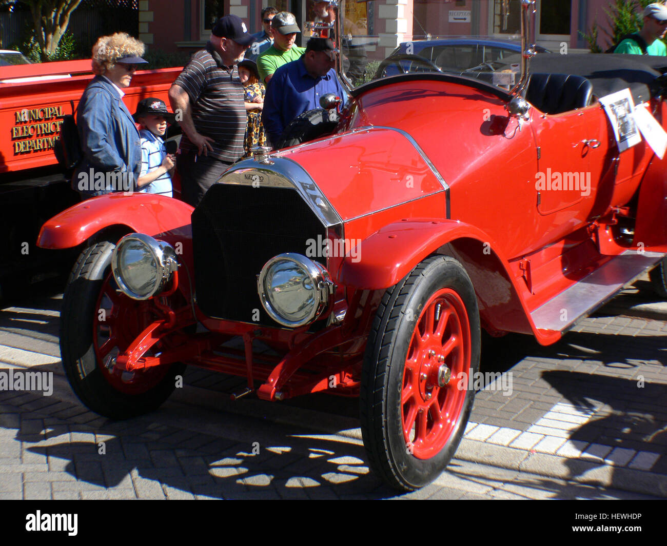 A very rare Italian vintage racing car. There only three Nazzaro ...