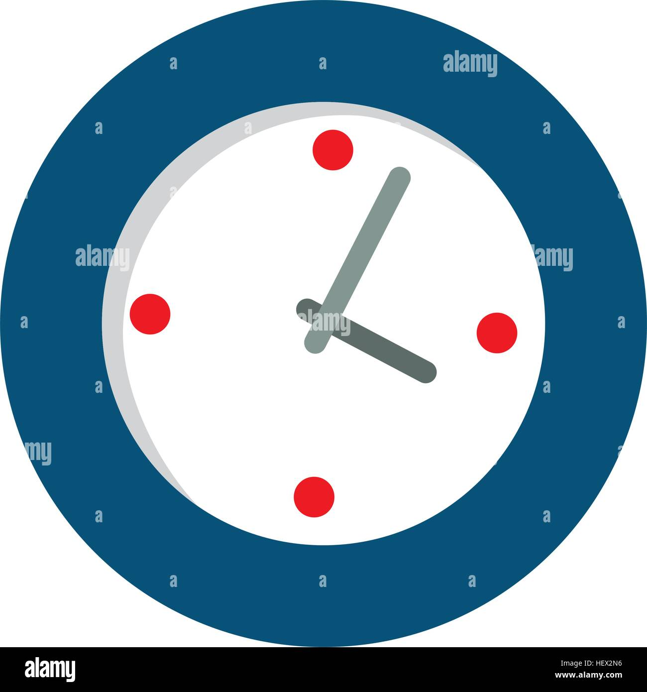 Wall watch clock stock vector art illustration vector image wall watch clock amipublicfo Choice Image