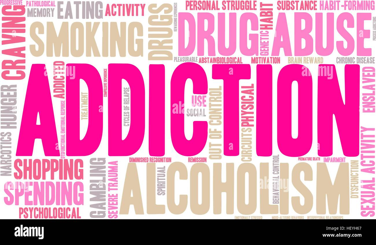 is addicting your word