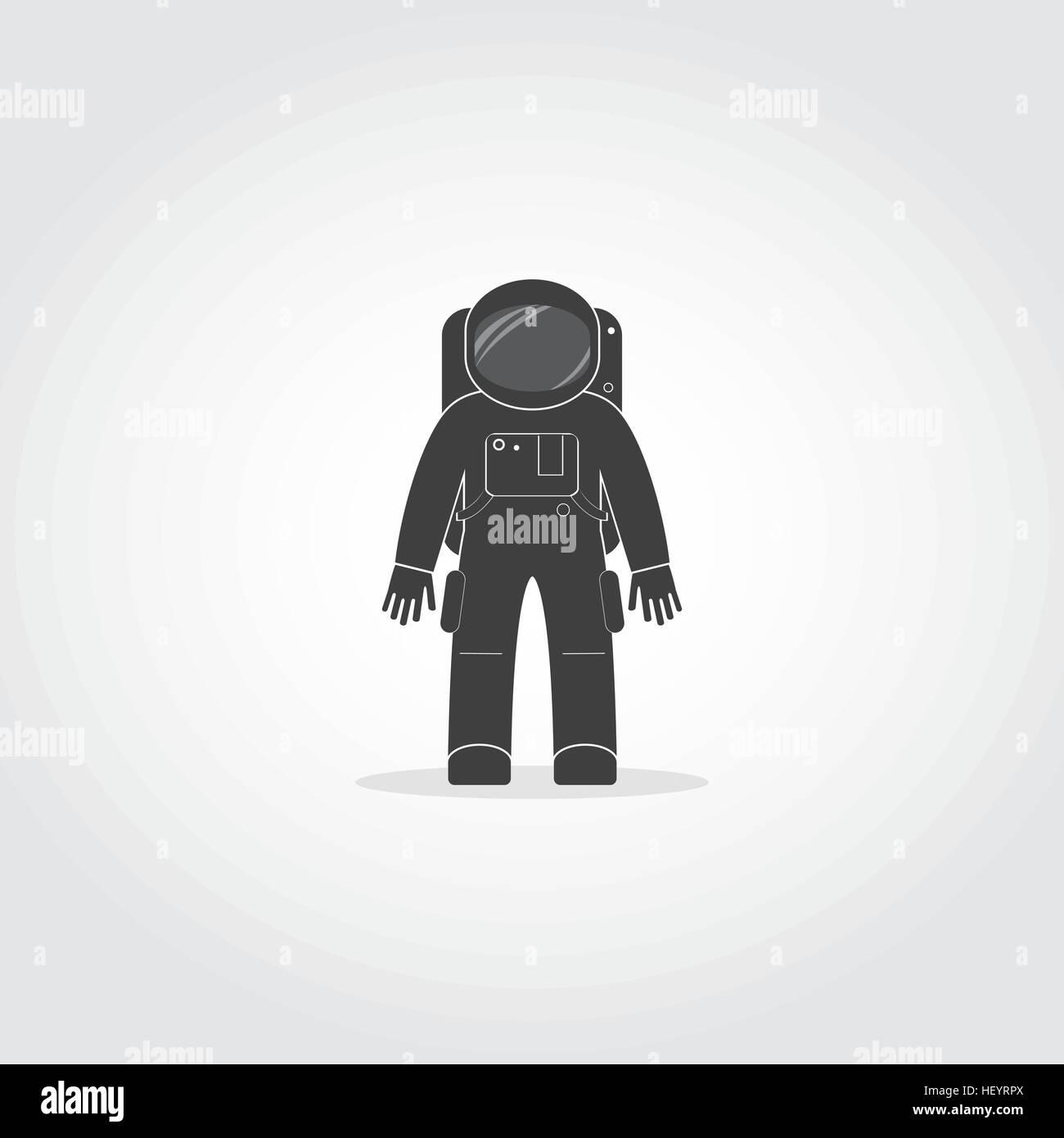cosmonaut space suit silhouette - photo #34