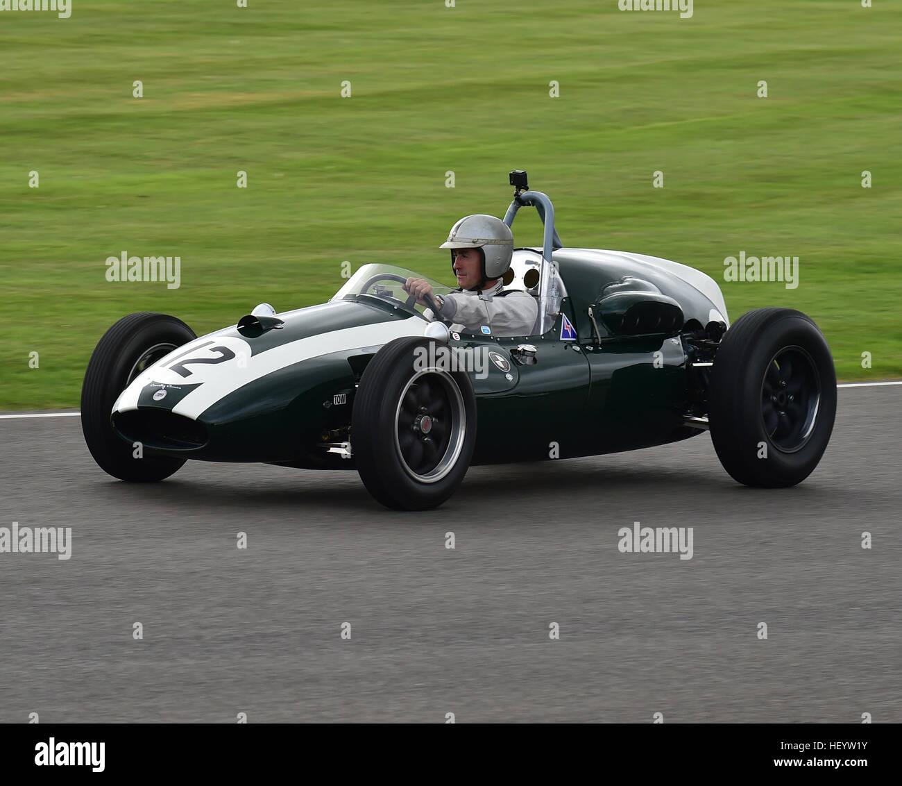 David Brabham Cooper Climax Jack Brabham Tribute Goodwood