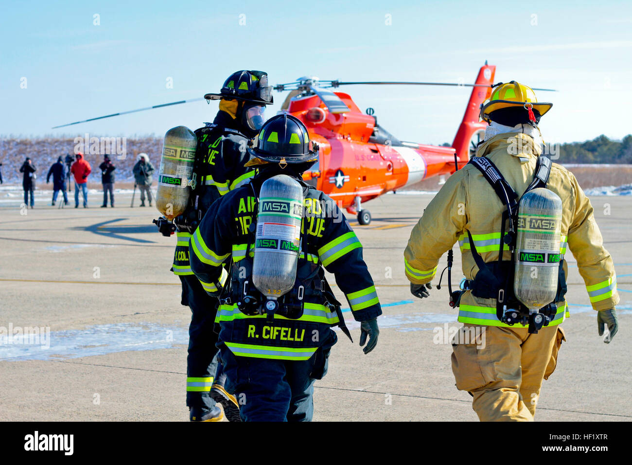 U.s. Air Force Fire Protection Specialists From The New Jersey Air ...