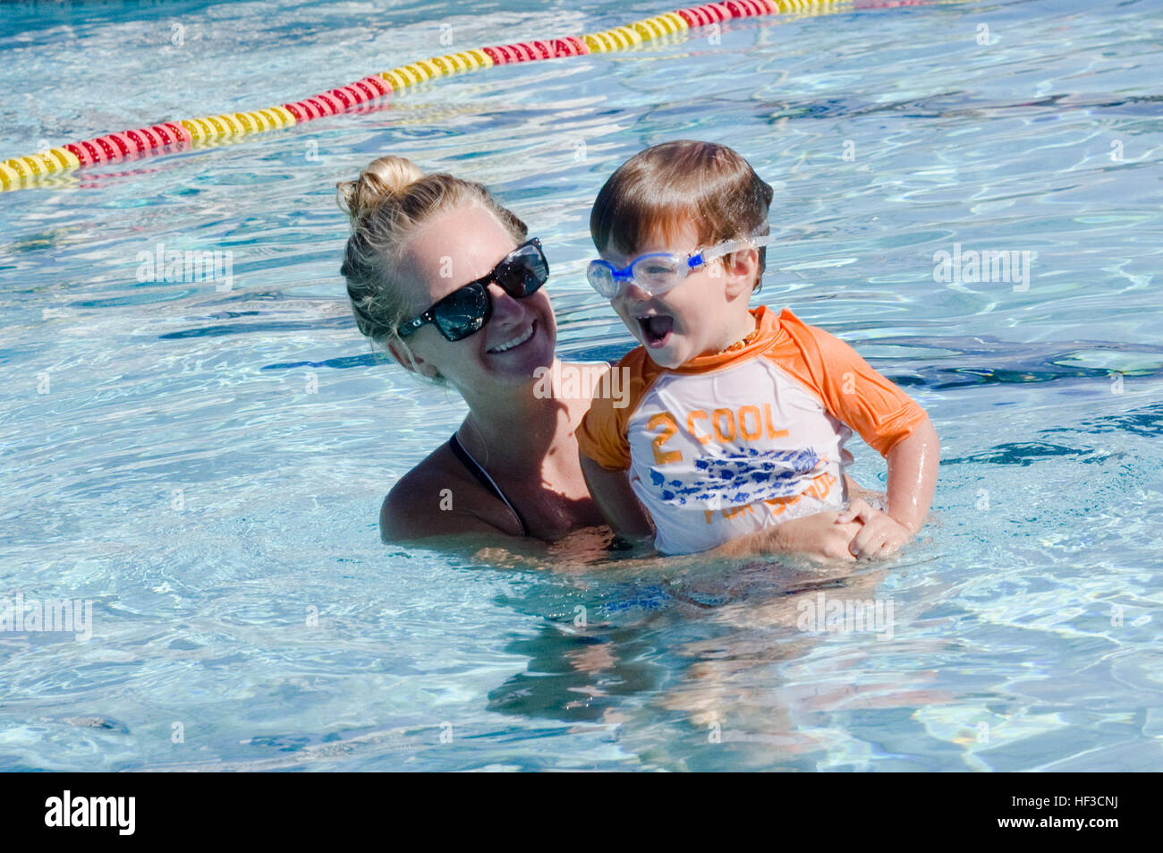 Lj szalai water safety instructor certified swim instructor lj szalai water safety instructor certified swim instructor engages in a swimming lesson with andrew thiel 3 at the base pool june 9 2015 1betcityfo Image collections