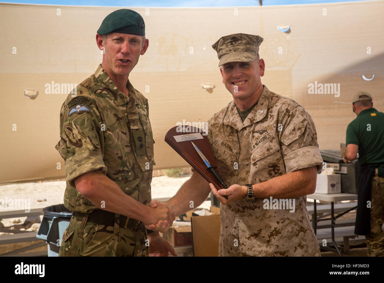 British royal marine lt col richard cantrill commanding officer stock photo royalty free - Royal marines recruitment office ...
