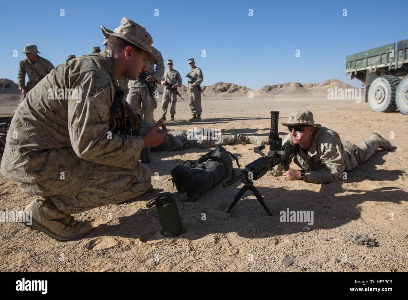 U.s. Marine Corps Sgt. Astin Kepple, (left), An Assault Man With ...