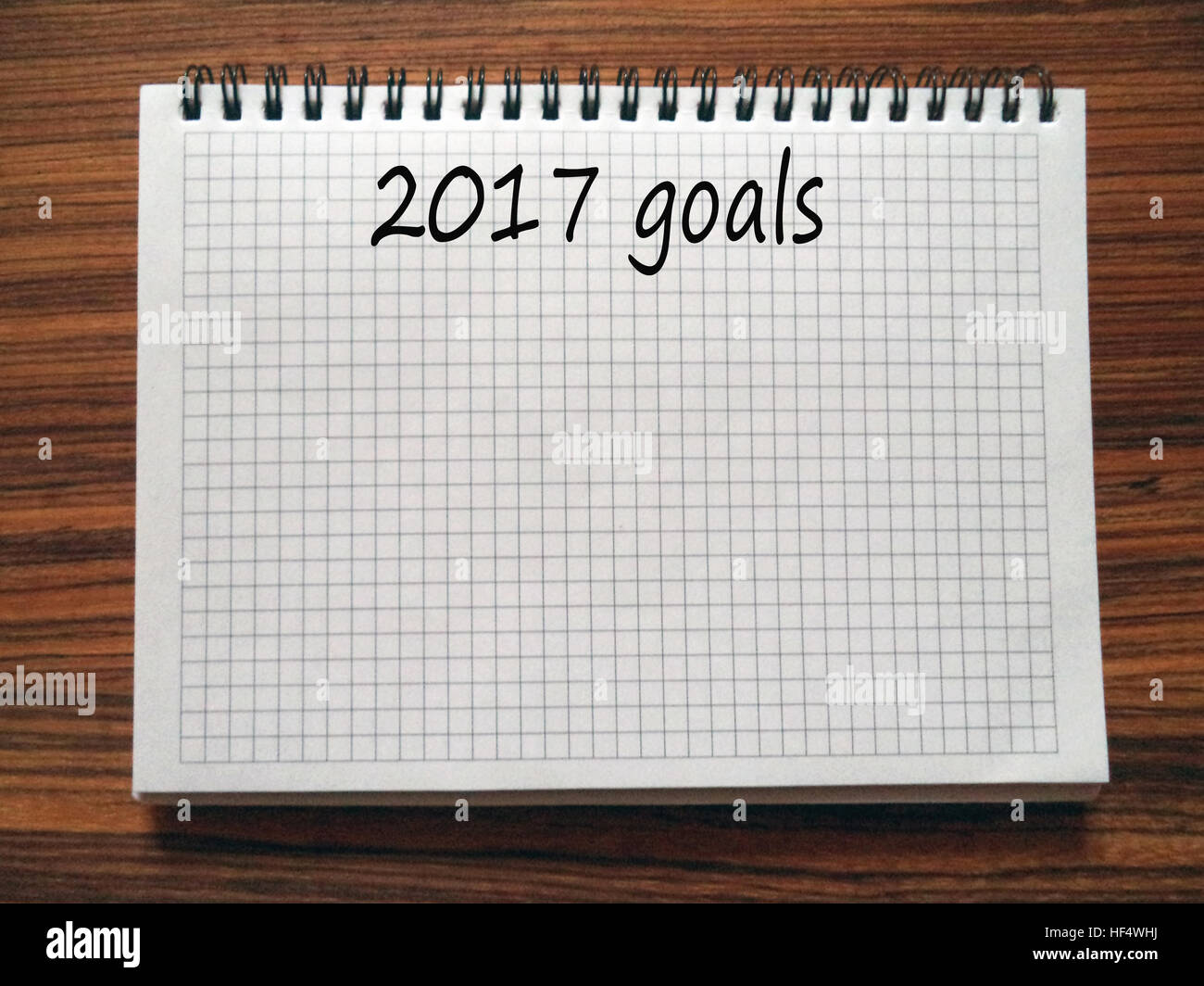 Quote List Open Notebook With Words 2017 Goalslist Of Goals For New Year