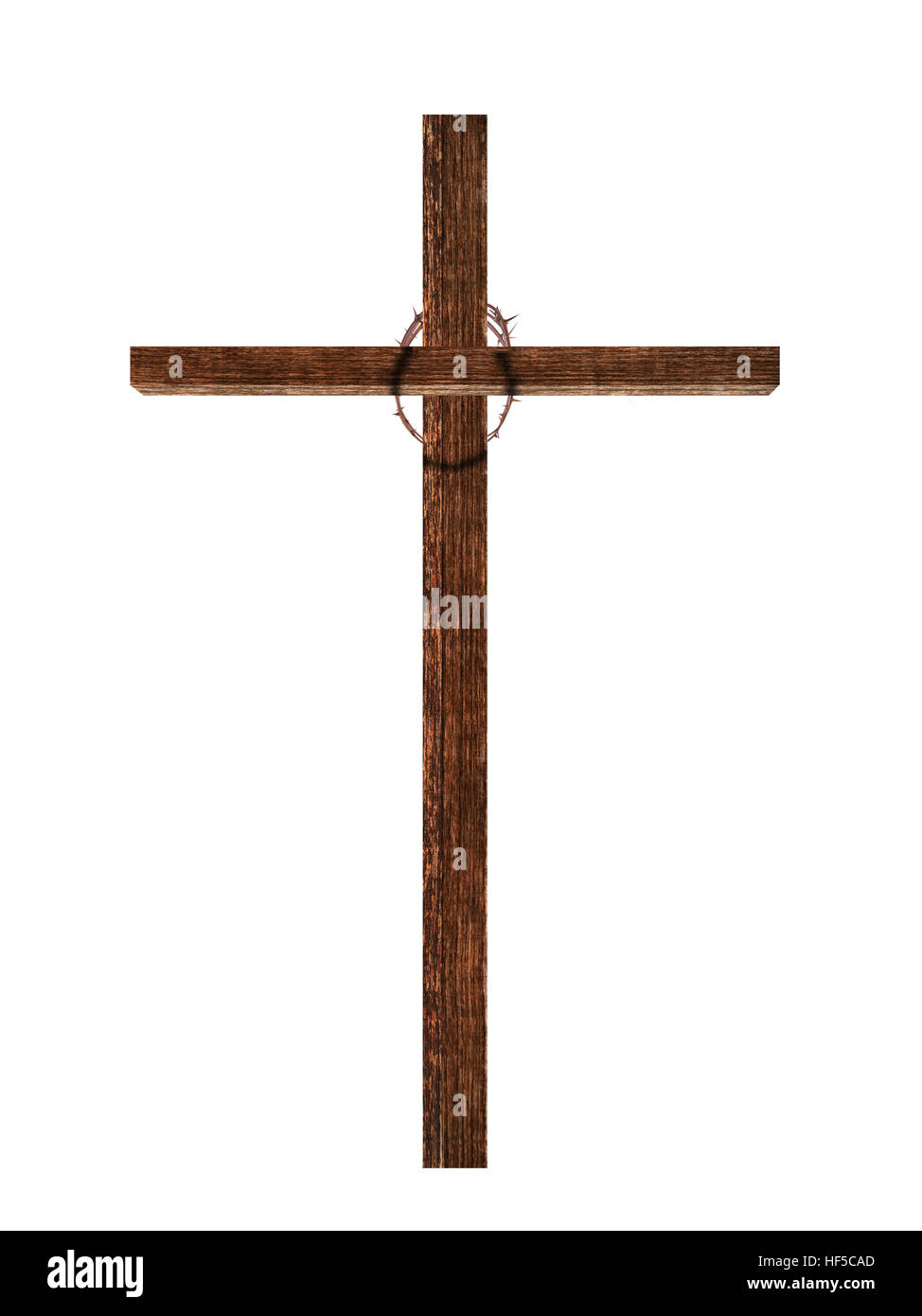 Easter christian faith cross with crown of thorns isolated on easter christian faith cross with crown of thorns isolated on white biocorpaavc