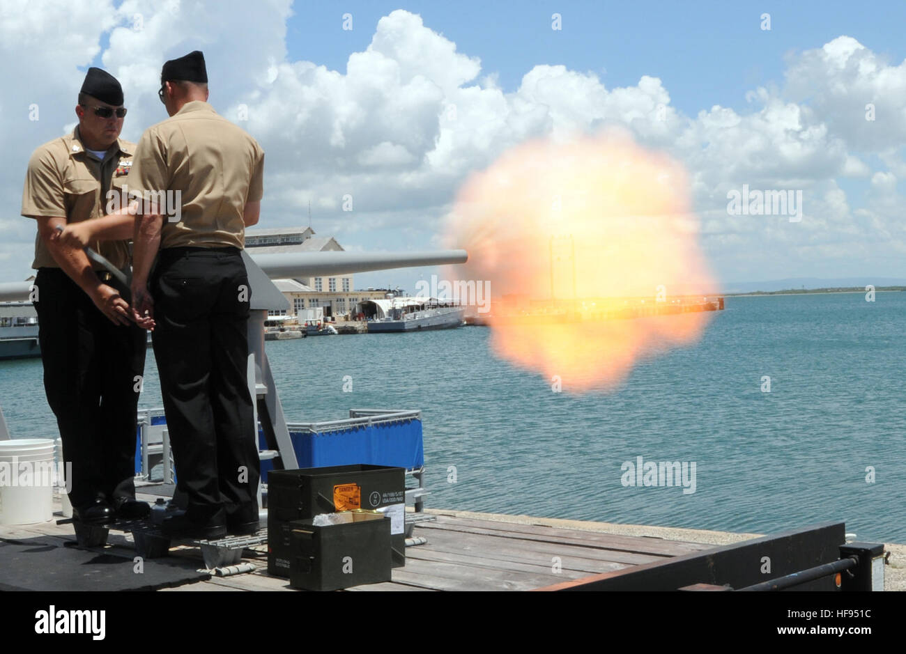Guantanamo Bay, Cuba – Navy Gunner's Mate 2nd Class David Carroll ...