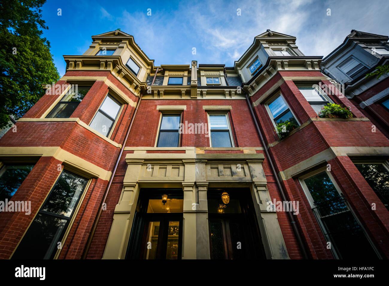 Historic brick buildings in Back Bay, Boston ...  Historic brick ...