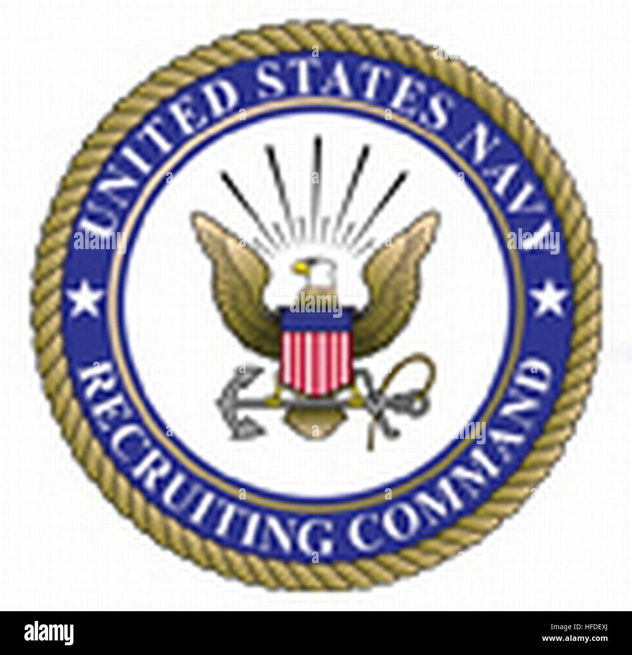 United navy recruiting command seal stock photos united navy united states navy recruiting command seal stock image biocorpaavc Gallery