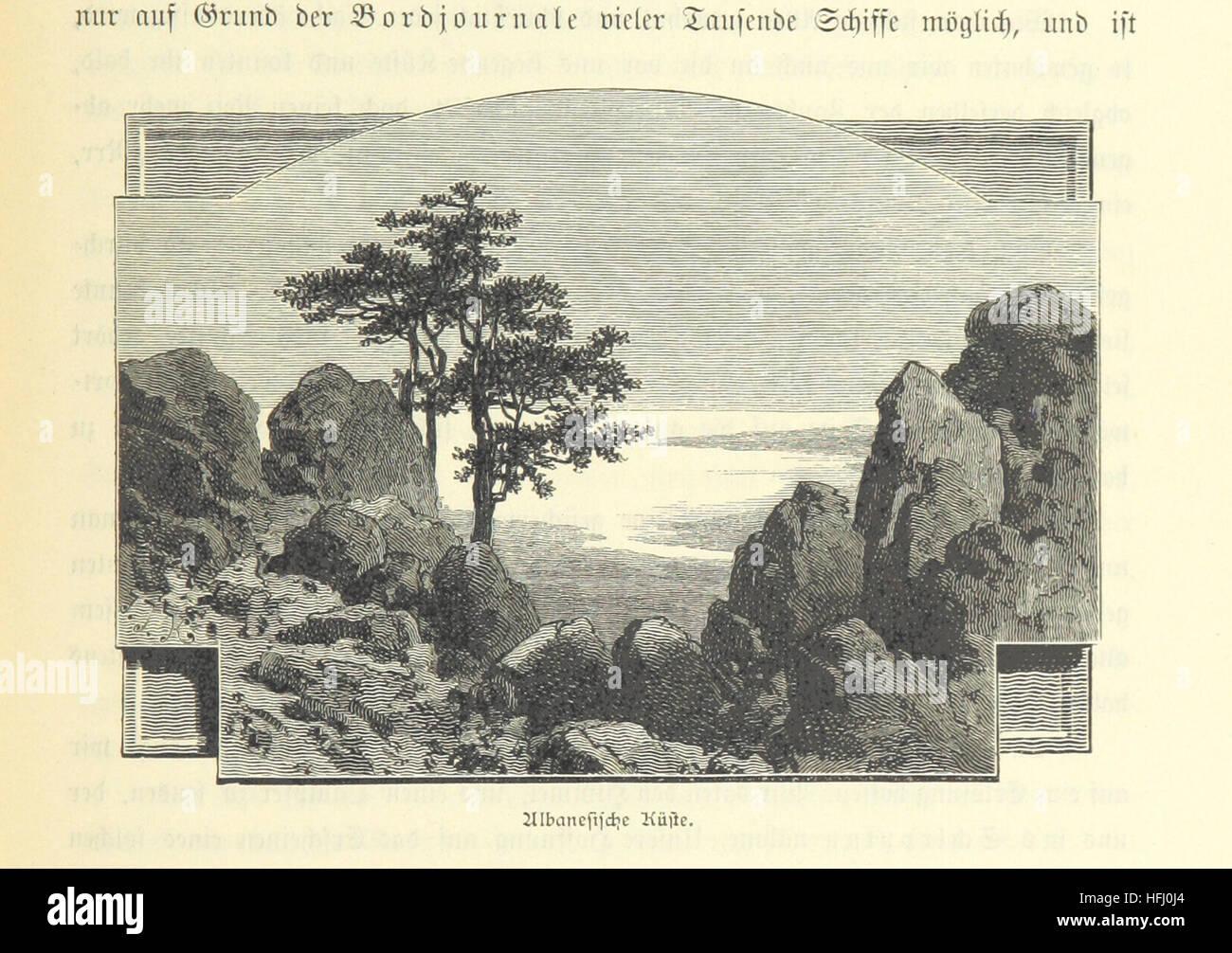 Sturmsegeln  Image taken from page 193 of 'Viertausend Meilen unter Sturmsegeln ...