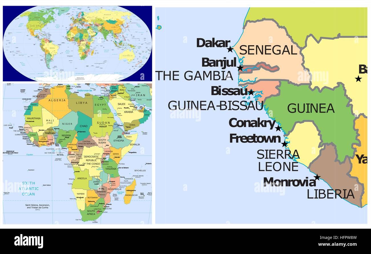 Map Africa Sierra Leone Stock shower draining slowly diagram 2004