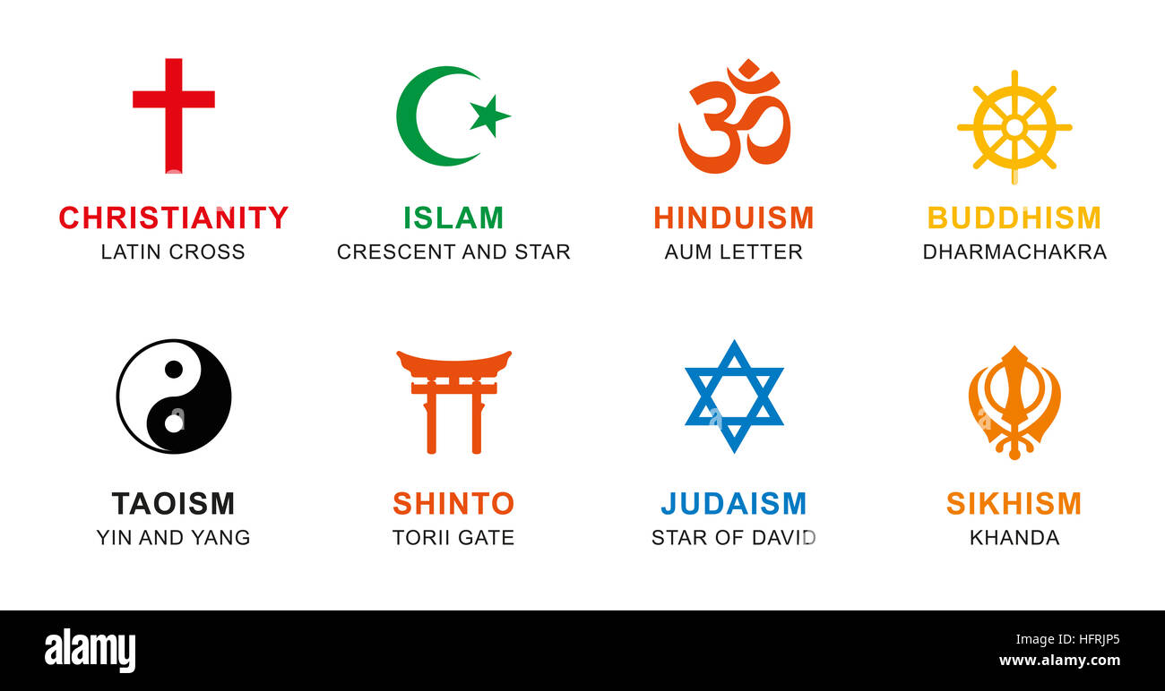 World religion symbols colored signs of major religious groups world religion symbols colored signs of major religious groups and religions buycottarizona