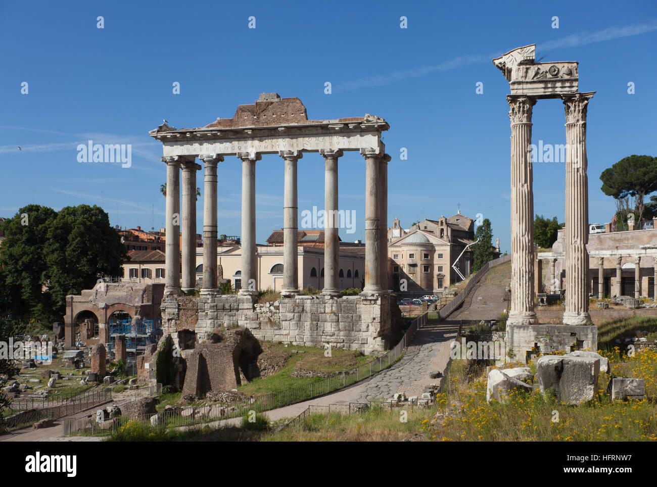 Forum Romanum Editorial Stock Image - Image: 34646054