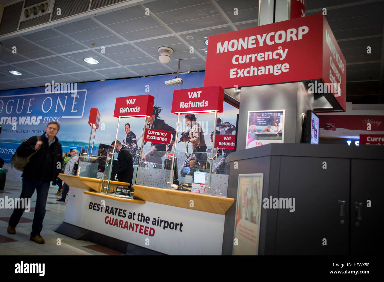 moneycorp currency exchange at the airport
