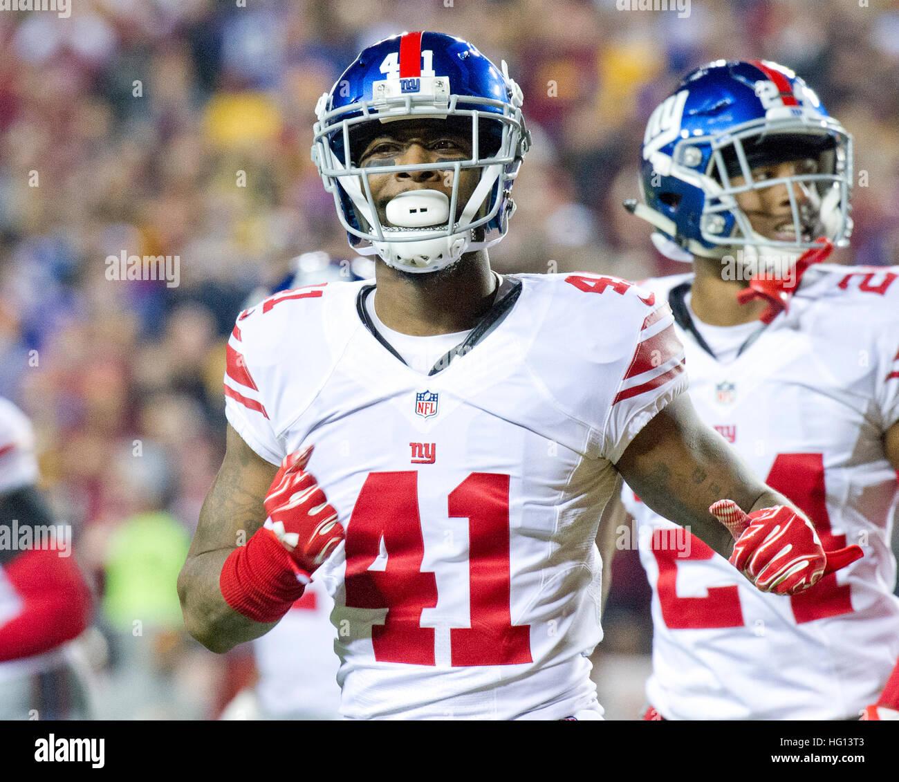 New York Giants cornerback Dominique Rodgers Cromartie 41 Stock