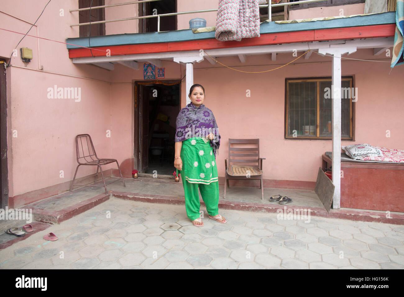 kathmandu, nepal. 6th dec, 2016. rajani bhandari, a former