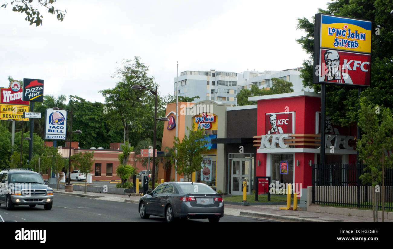 Fast Food Restaurants In San Juan Puerto Rico