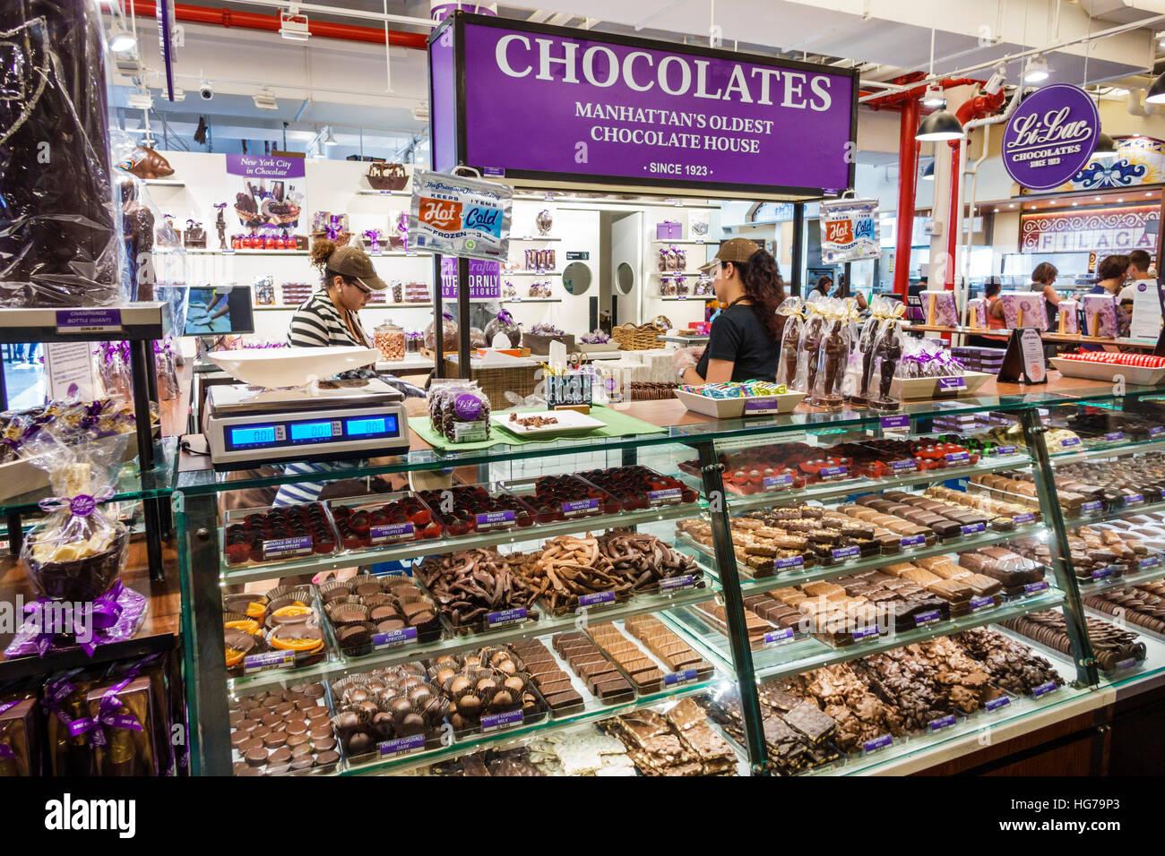Chelsea Market manhattan new york city nyc ny chelsea chelsea market li-lac stock