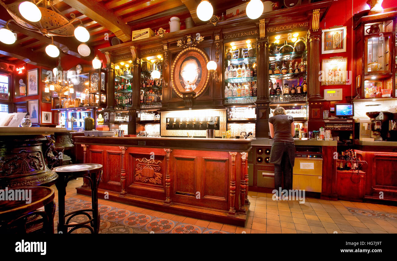 Cafe in the red light district amsterdam stock photo royalty cafe in the red light district amsterdam sciox Image collections