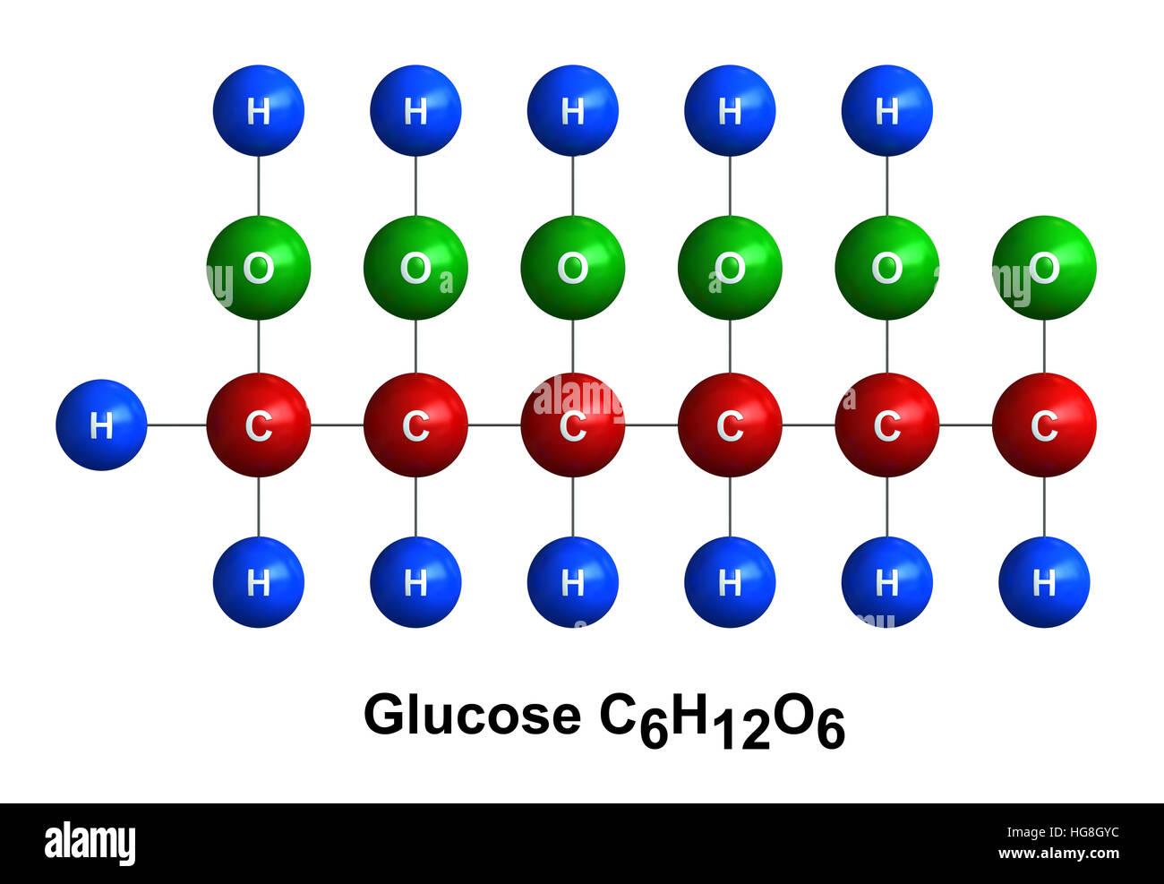 3d render of molecular structure of glucose isolated over white 3d render of molecular structure of glucose isolated over white background biocorpaavc Images