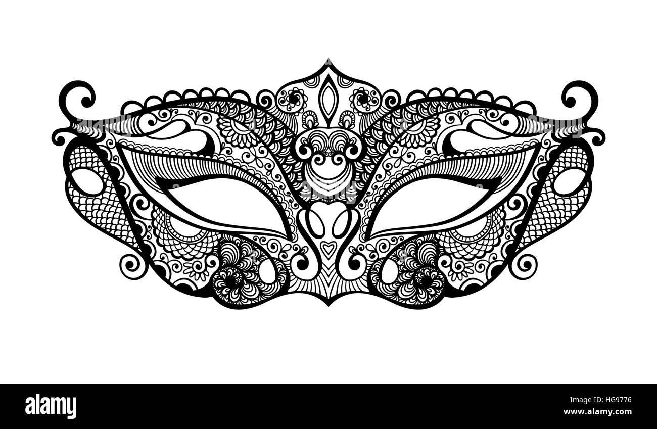 Brazil Carnival Mask Cut Out Stock Images & Pictures - Alamy