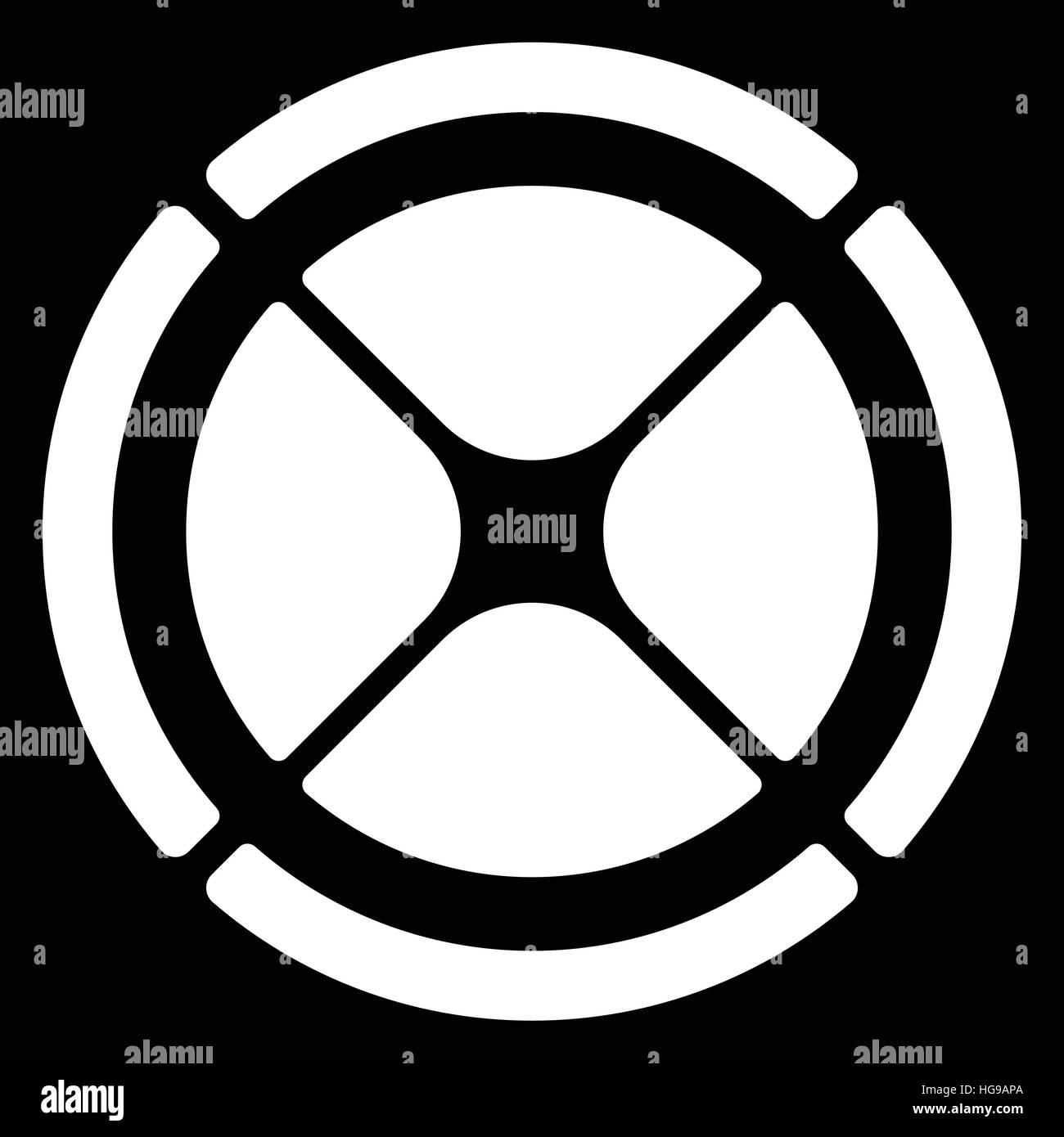Segmented circle cross hair target symbol chart template gui segmented circle cross hair target symbol chart template gui element buycottarizona Image collections