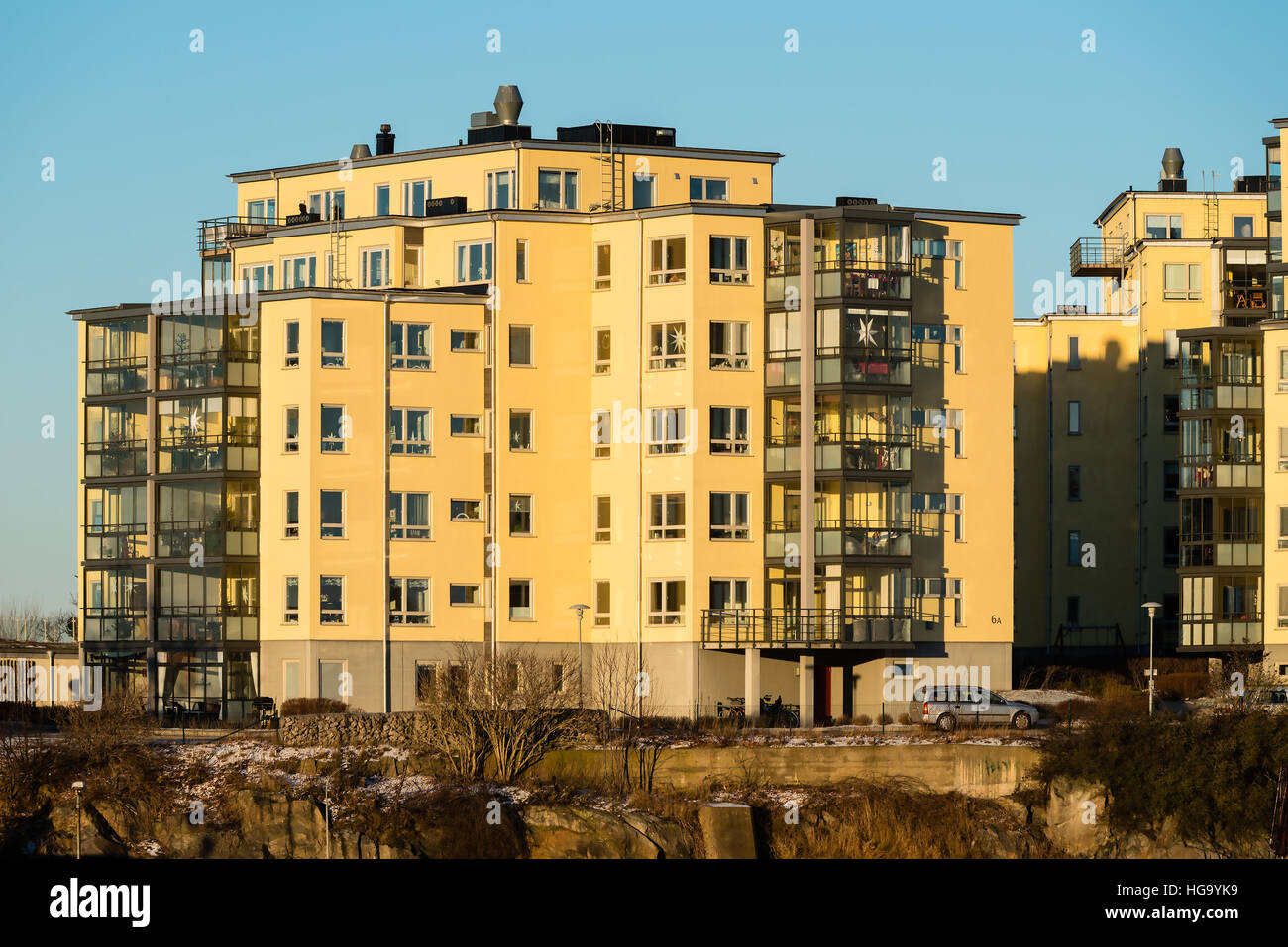 karlskrona, sweden - january 5, 2017: documentary of urban