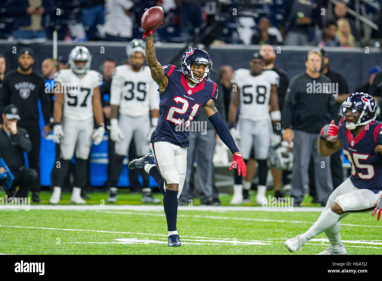 Houston Texas USA 7th Jan 2017 Houston Texans cornerback A J