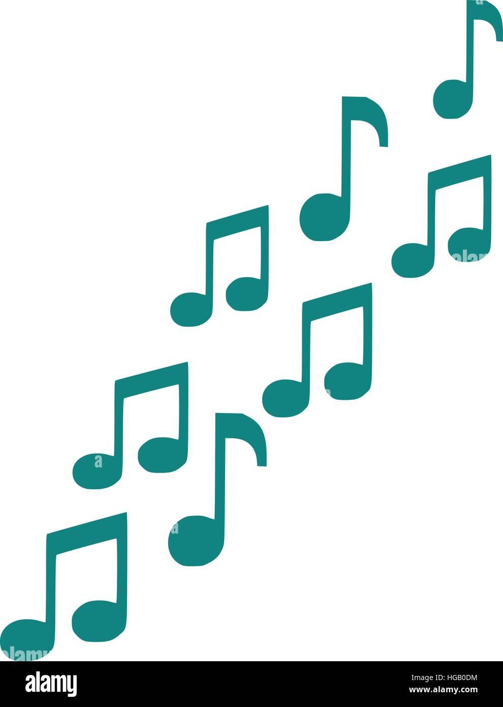 Music notes symbol stock vector art illustration vector image music notes symbol buycottarizona
