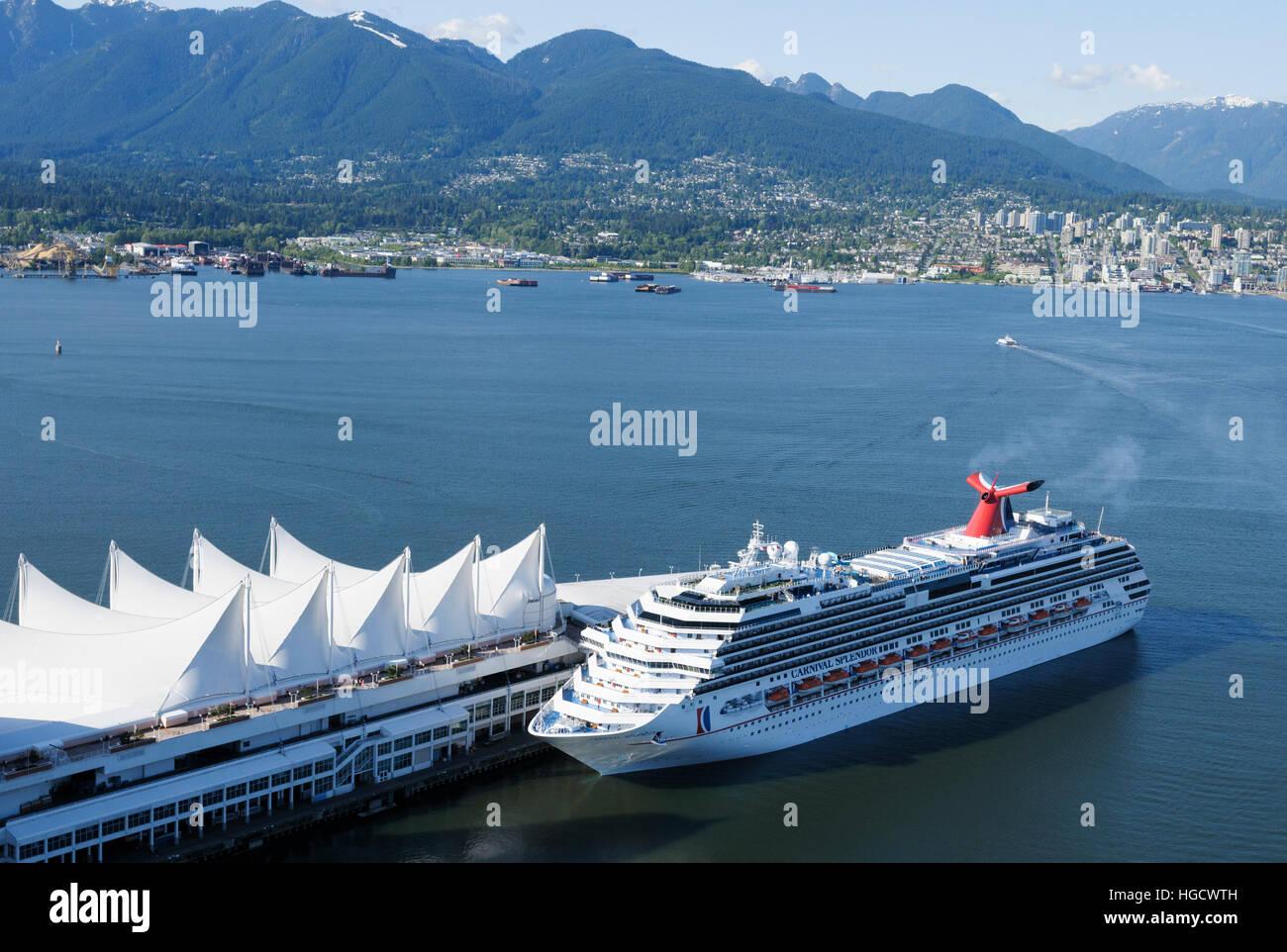 Carnival Splendor Cruise Ship Moored At Canada Place Cruise - Pictures of carnival splendor cruise ship