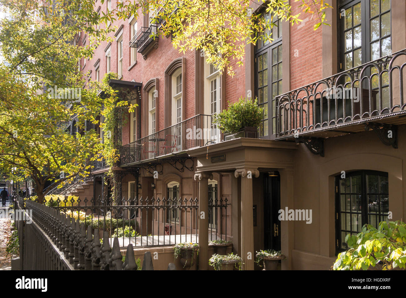 Luxury Homes In The Gramercy Park Historic District NYC USA
