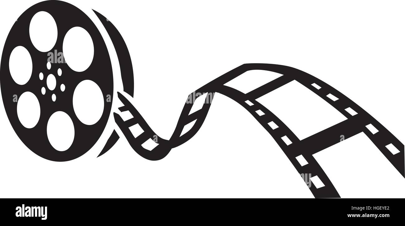film reel movie stock vector art illustration vector image rh alamy com movie reel clipart clipart film reel