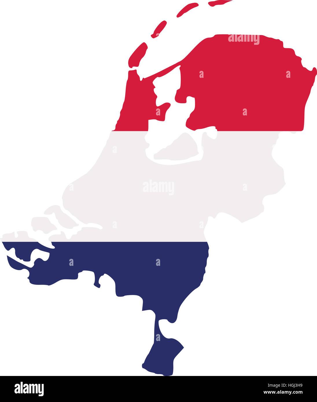 Netherlands map Stock Photo Royalty Free Image 130705045 Alamy