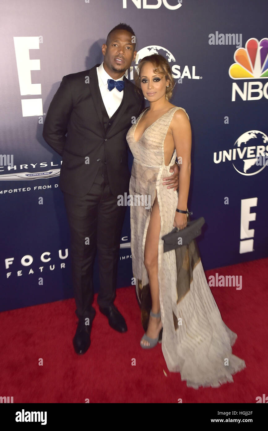Beverly Hills, California. 8th Jan, 2017. Marlon Wayans ...