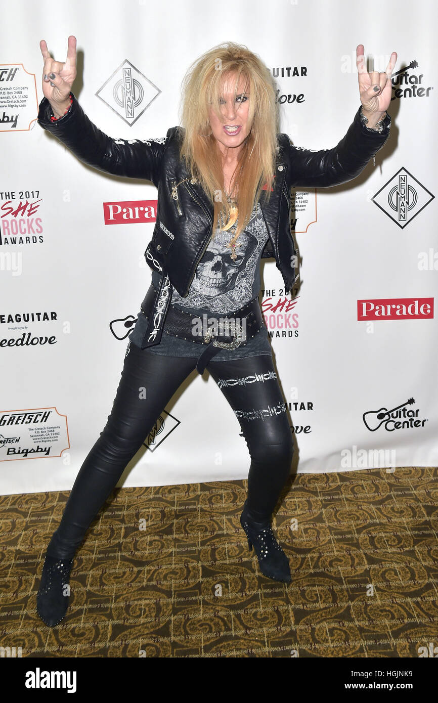 Lita ford attends the 5th she rocks awards during the namm show at anaheim hilton hotel on january 20 2017 in anaheim california