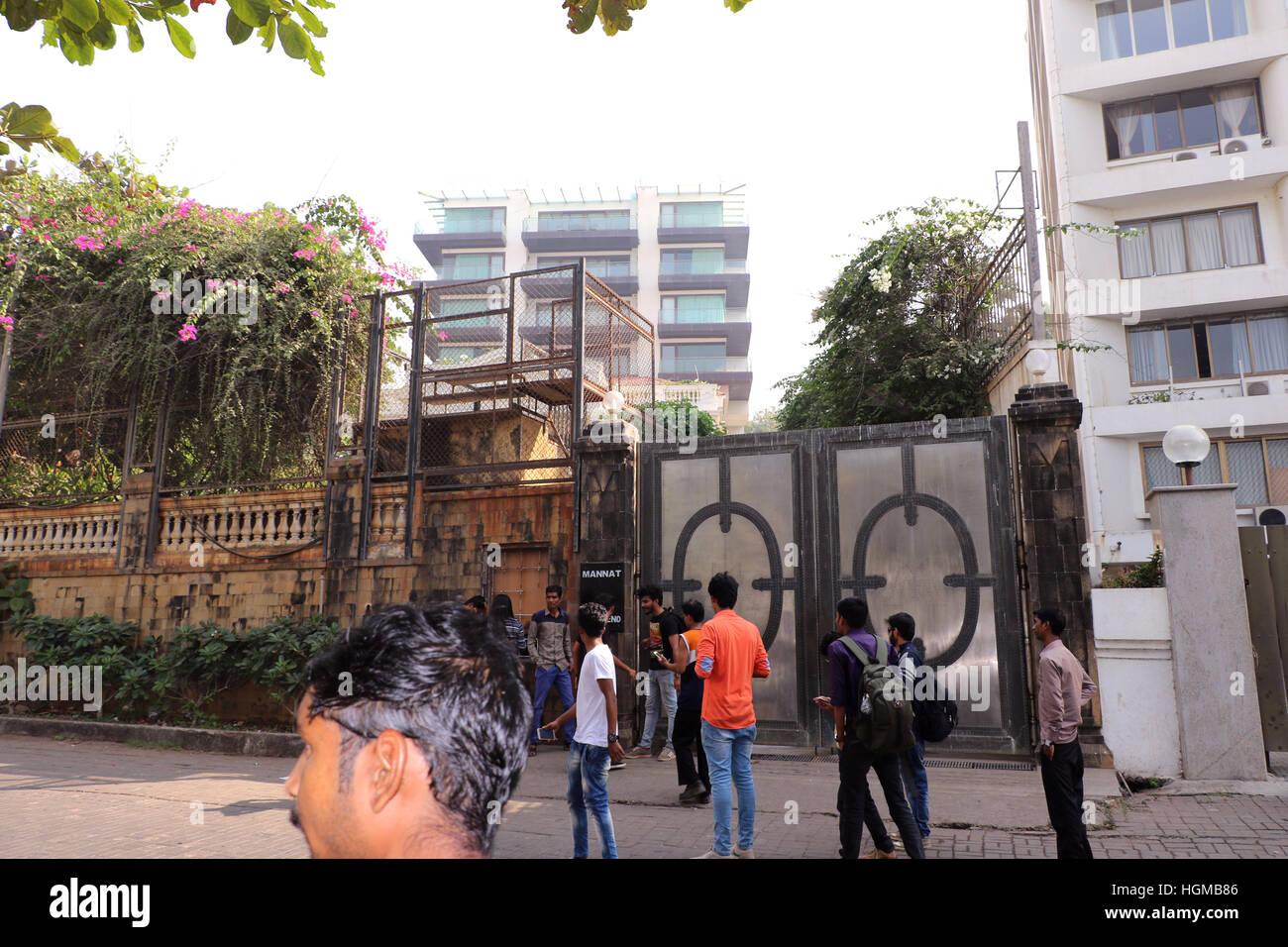 Mannat shahrukh khan house images