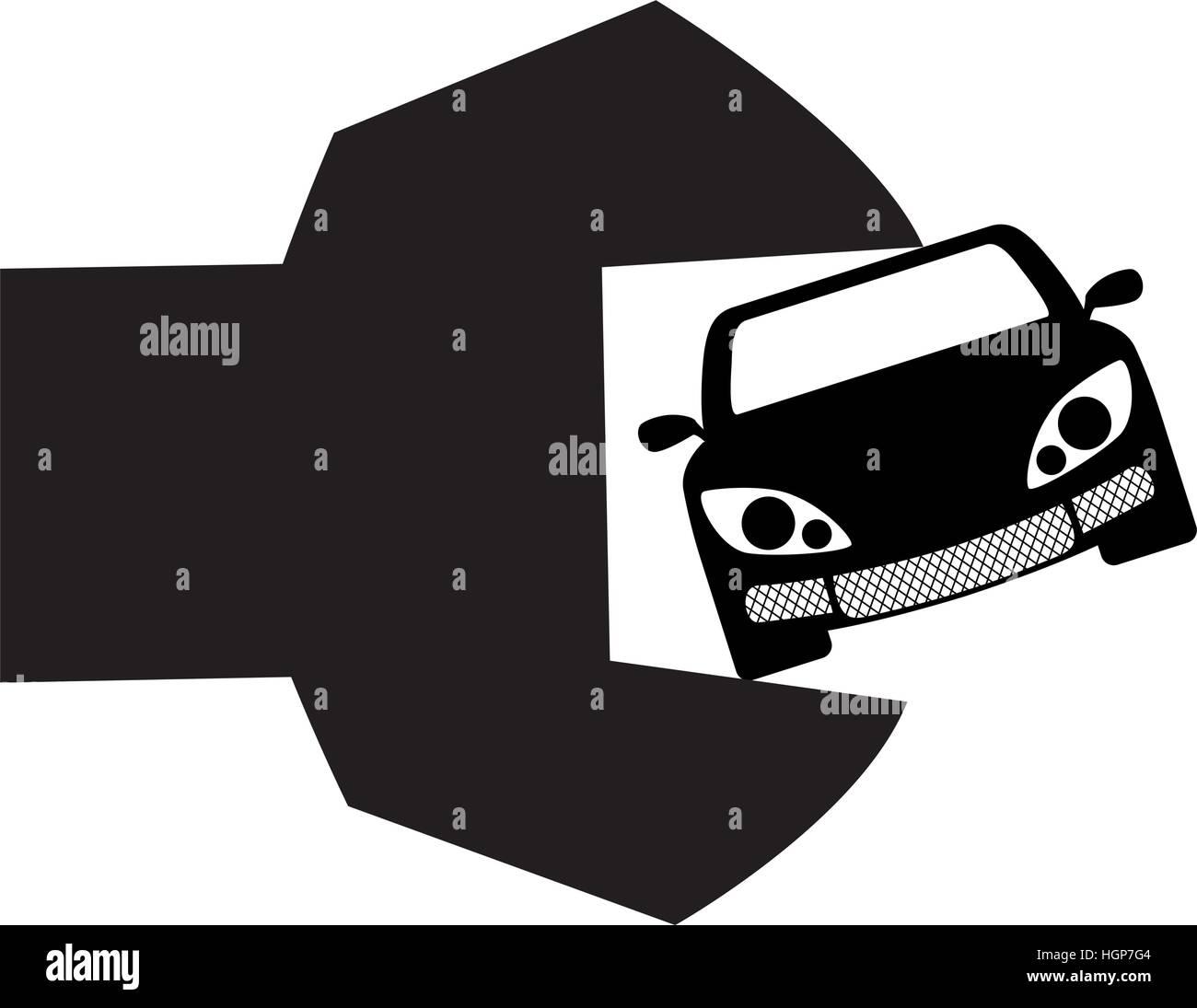 Design car repair workshop - Stock Vector Car Repair Workshop Emblem Icon Image Vector Illustration Design