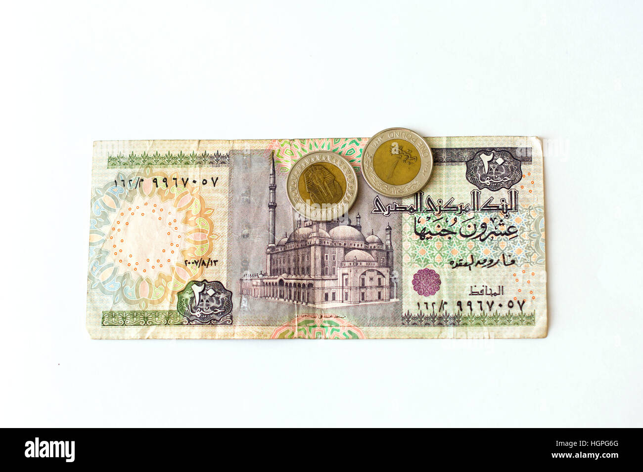 20 egyptian pounds old banknote denominations of twenty egp with 20 egyptian pounds old banknote denominations of twenty egp with mosque coin 1 pound with sphinx symbol of egypt currency to wealth and investment buycottarizona Choice Image