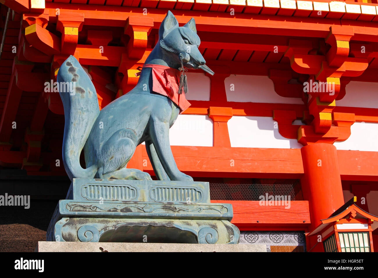 Baby inari fox for sale - Fox Statue Holding A Key In Its Mouth At The Entrance Of Fushimi Inari Shrine In