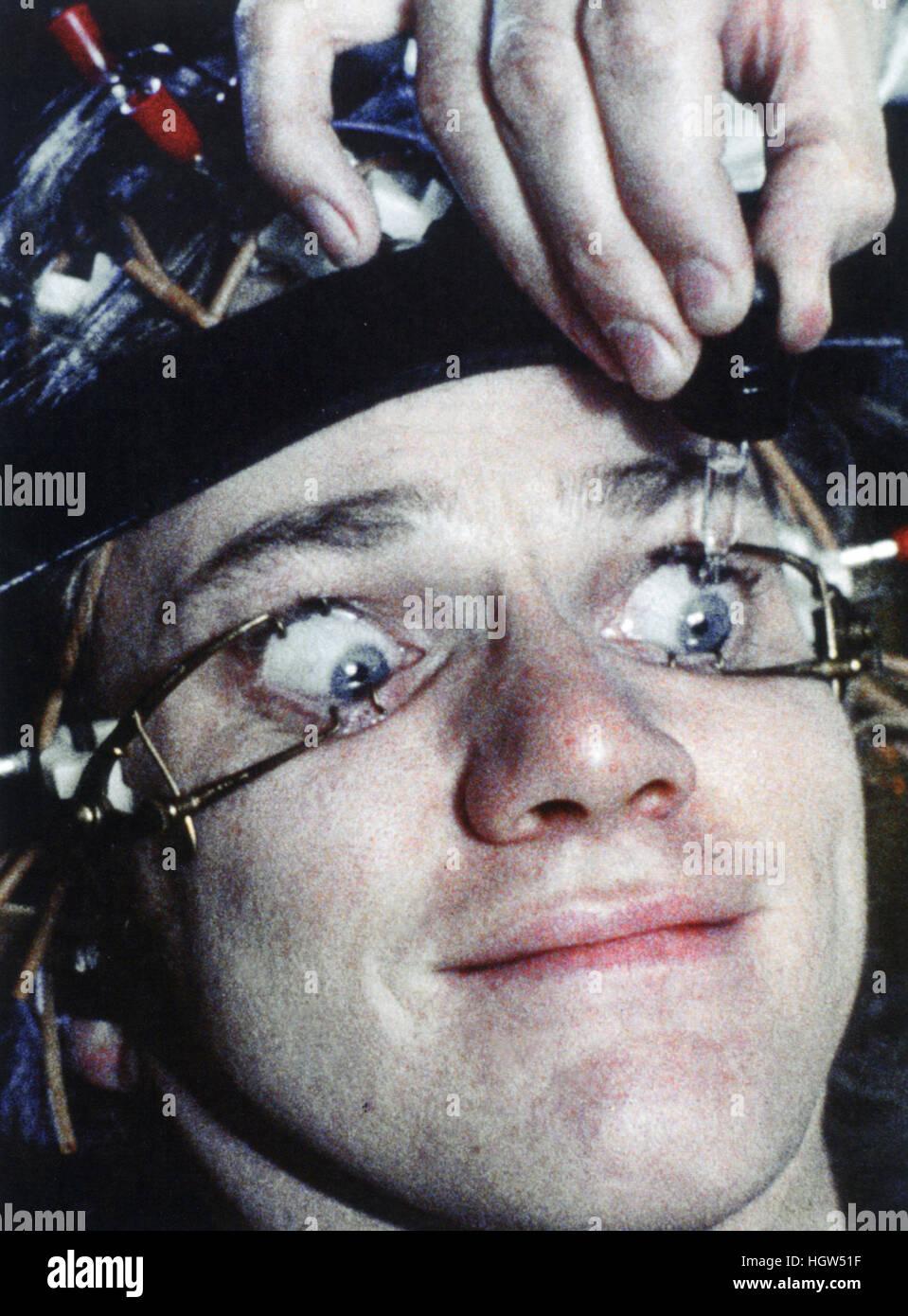 A CLOCKWORK ORANGE 1971 Warner Bros film with Malcolm ...Malcolm Mcdowell Clockwork Orange Eyes