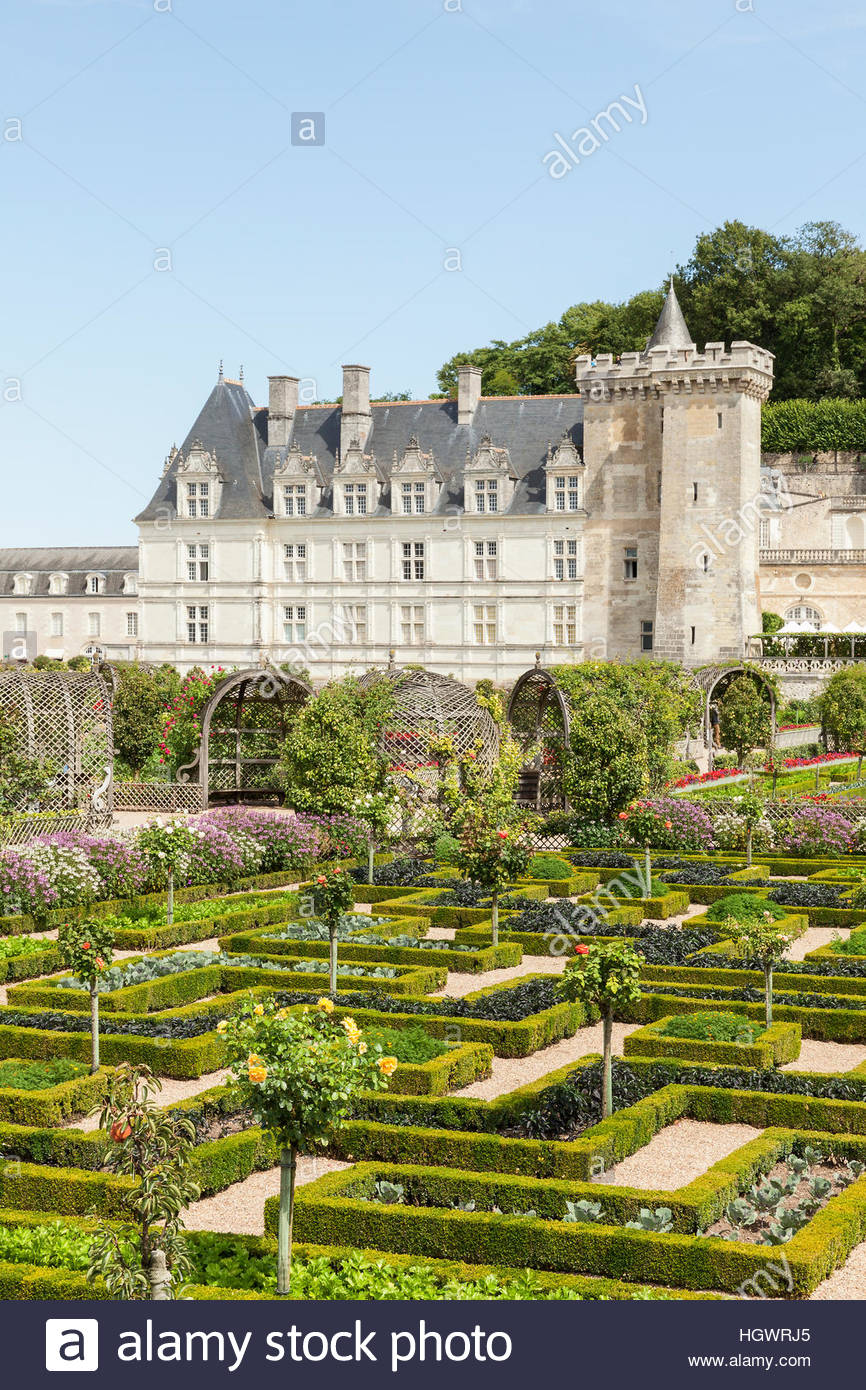 Kitchen Gardens The Formal Potager Kitchen Gardens Parterre At The Chateau De