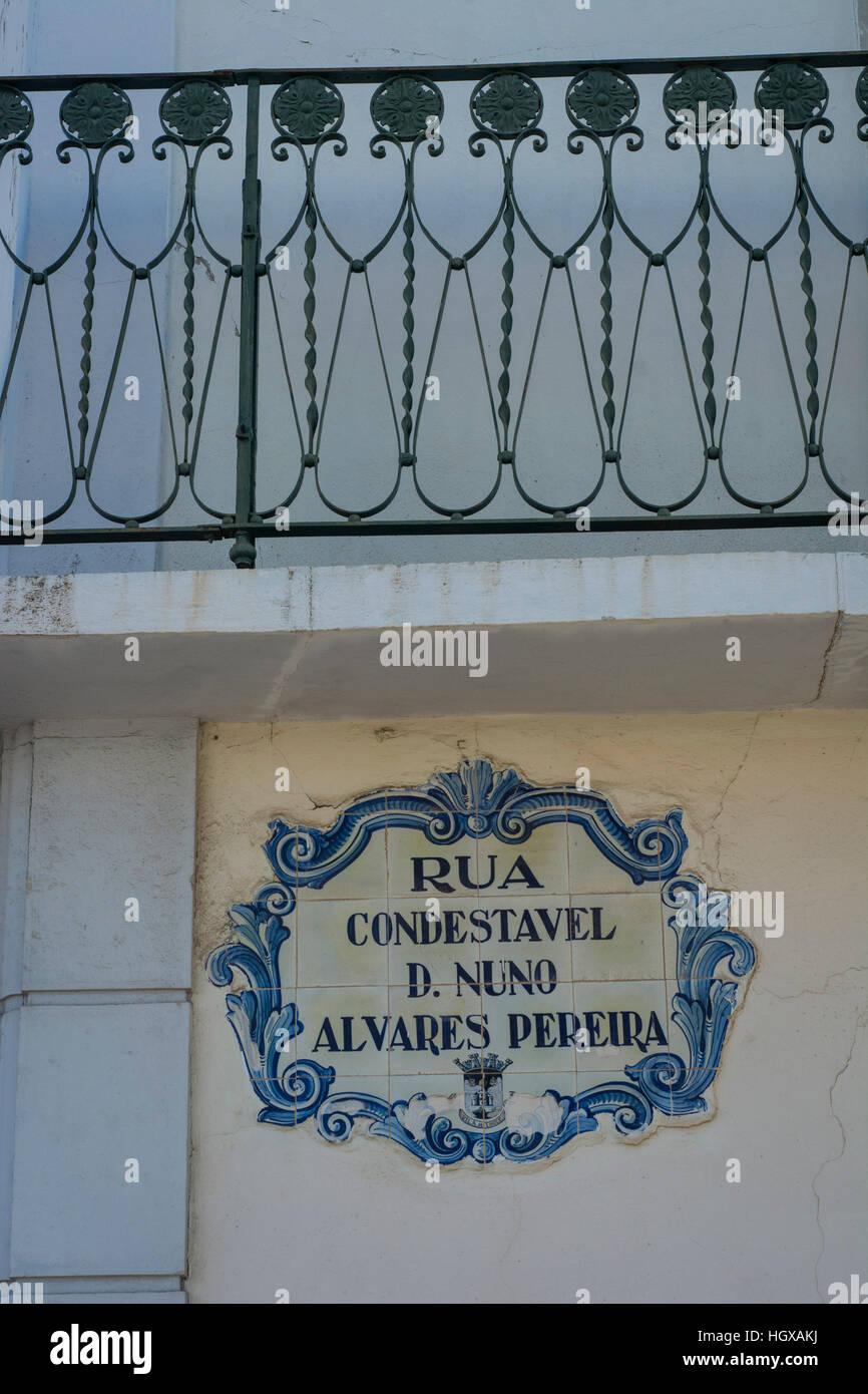 Ceramic tiles called azulejo loule algarve portugal stock photo ceramic tiles called azulejo loule algarve portugal dailygadgetfo Choice Image