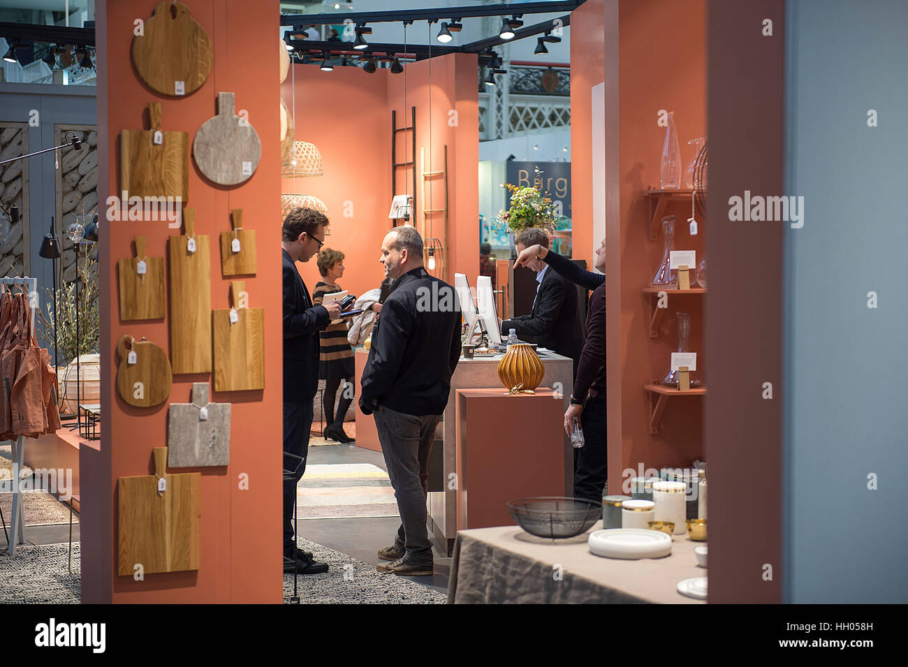 Olympia London Uk Th January  Top Drawer Design Show For Creative Retailers Opens At Olympia Bringing Original And Fresh Ideas From New Talent