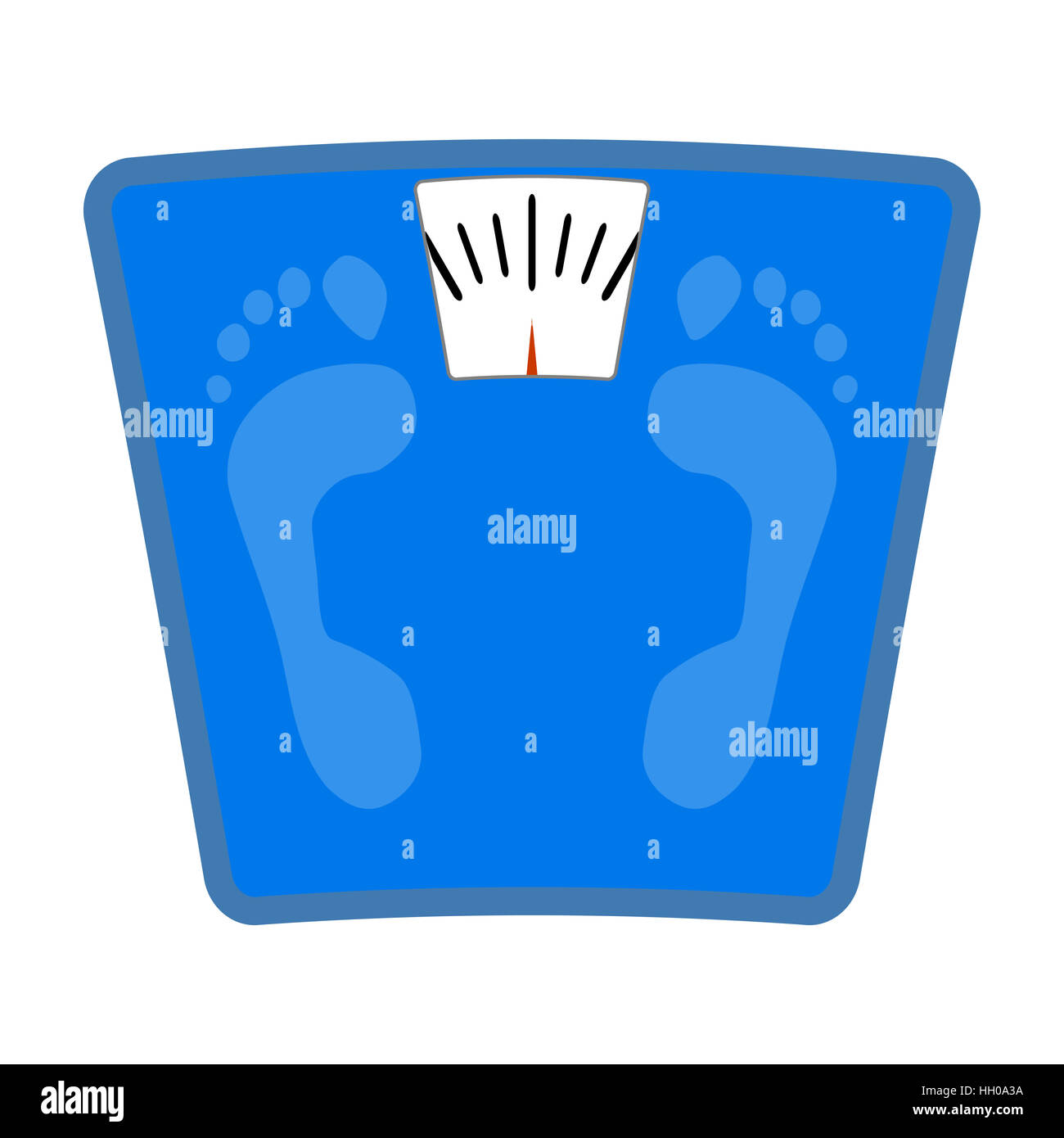 Scale icon flat. Weight loss and balance scale, bathroom ...
