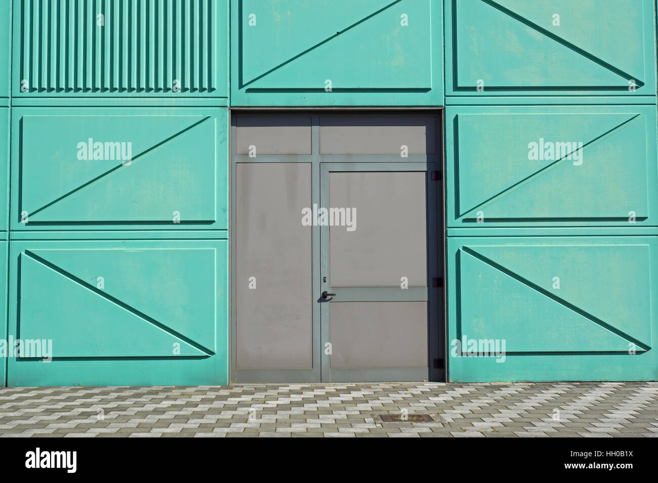 Fire escape doors on a sidewall of facade building. emergency exit & Fire escape doors on a sidewall of facade building. emergency exit ... pezcame.com